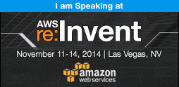 I am Speaking at AWS re:Invent